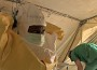 Nurses put on protective gear to treat Ebola patients in the southern Guinean town of Gueckedou